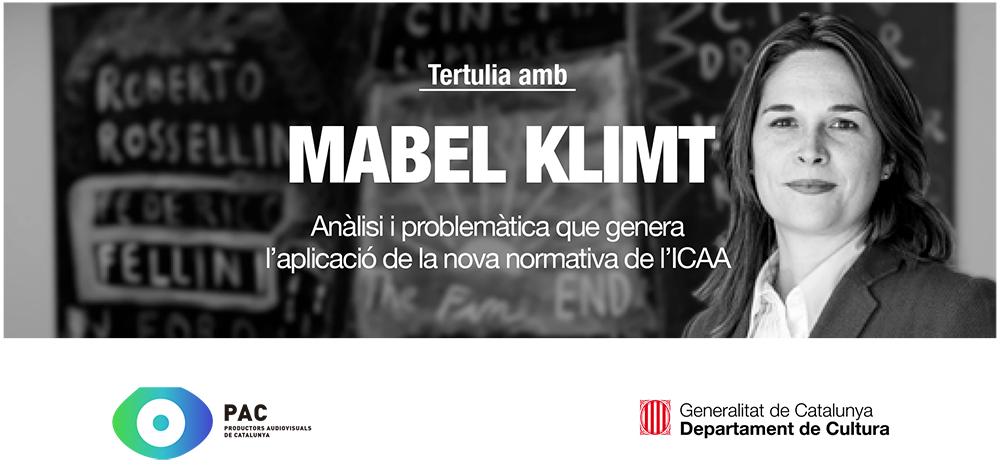Tertúlia amb la Mabel Klimt