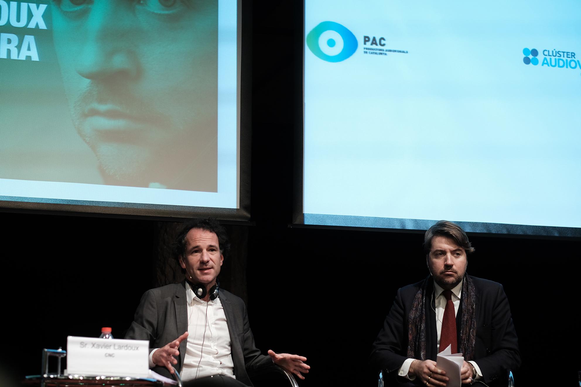 Xavier Lardoux i Albert Serra