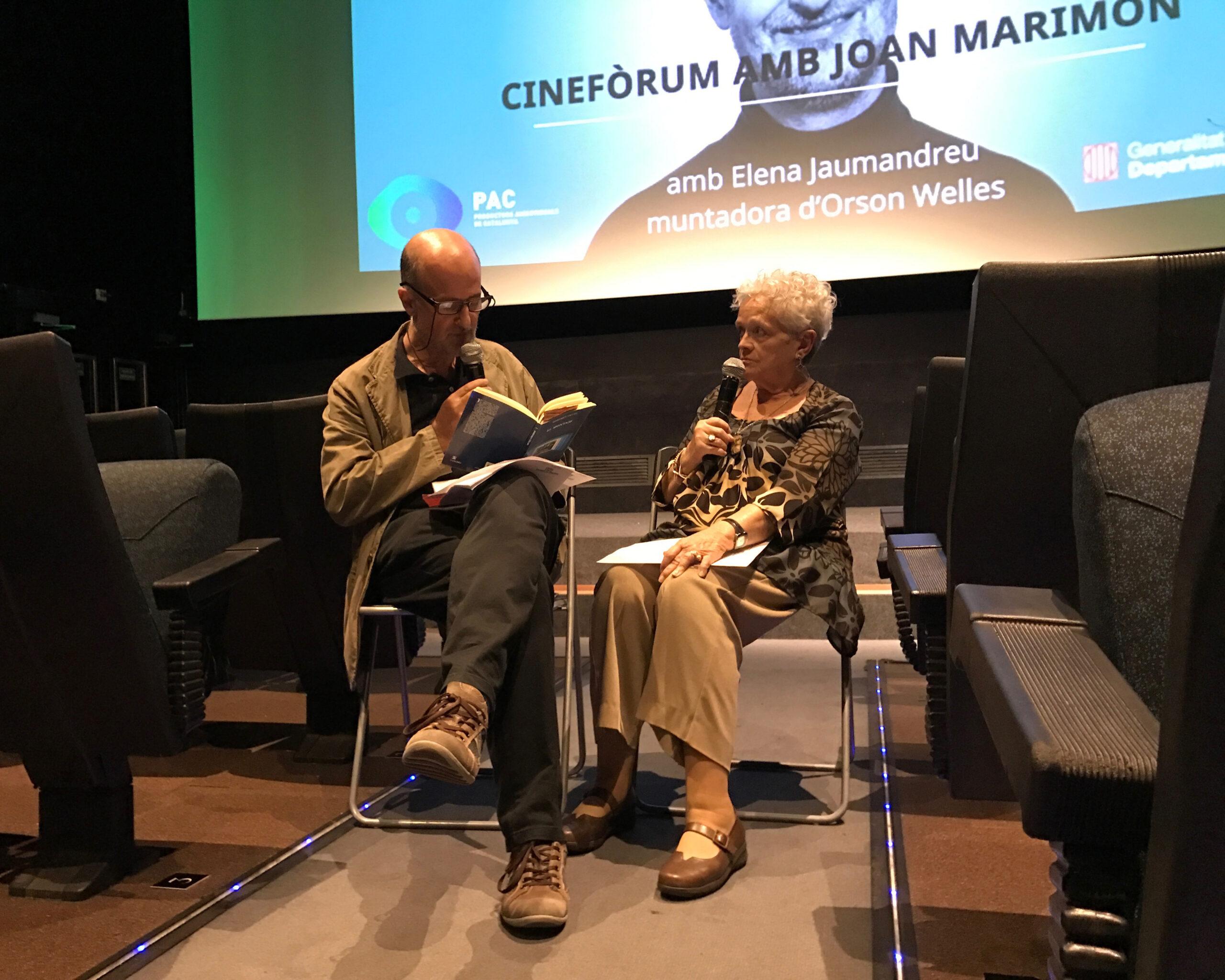 Joan Marimón i Elena Jaumandreu
