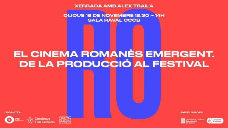 Xerrada amb Alex Traila sobre el cinema romanes